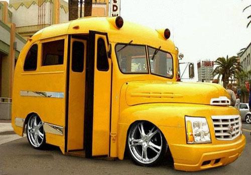 Custom Short School Bus